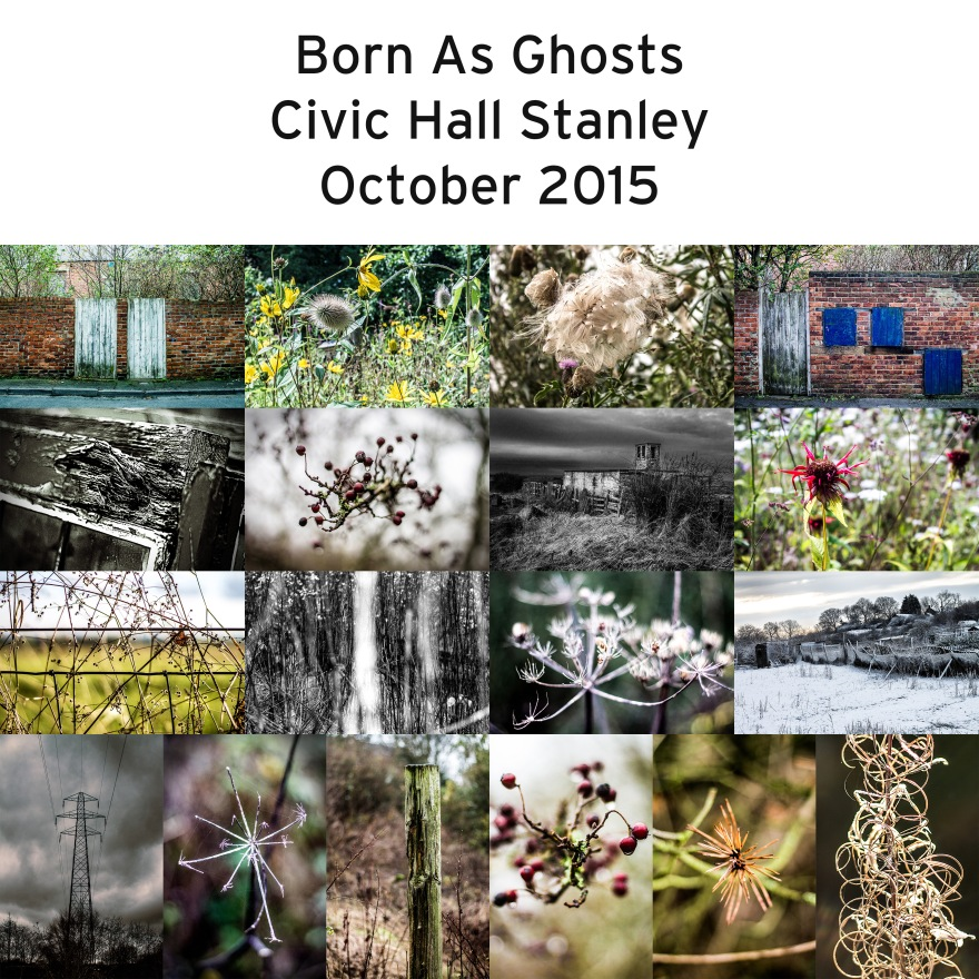 Born as ghosts collage